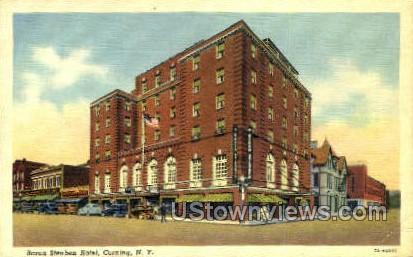 Baron Steuben Hotel - Corning, New York NY Postcard