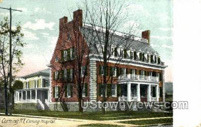 Corning Hospital - New York NY Postcard