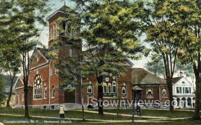 Methodist Church - Corning, New York NY Postcard