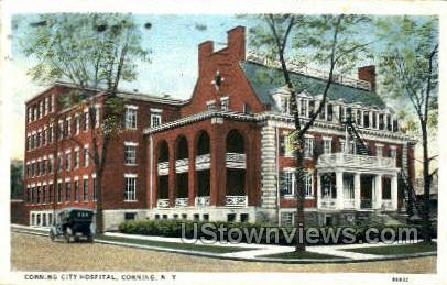 City Hospital - Corning, New York NY Postcard