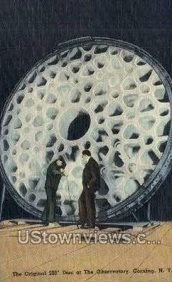 Observatory - Corning, New York NY Postcard