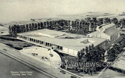 Corning Glass Center - Cortland, New York NY Postcard