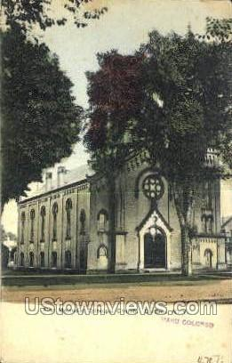 Methodist Church - Cortland, New York NY Postcard