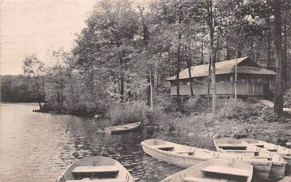 YWCA Camp Summit Lake Central Valley, New York Postcard