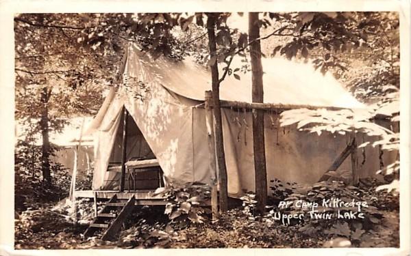 Camp Kittredge Central Valley, New York Postcard