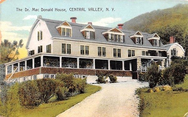 Dr Mac Donald House Central Valley, New York Postcard