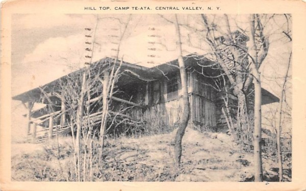 Camp Prospect Central Valley, New York Postcard