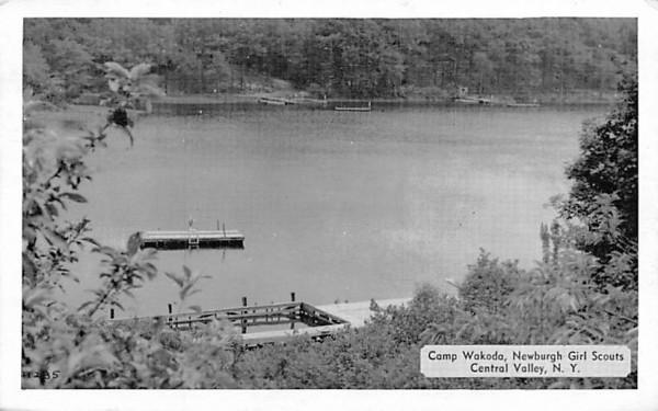 Camp Wakoda Central Valley, New York Postcard