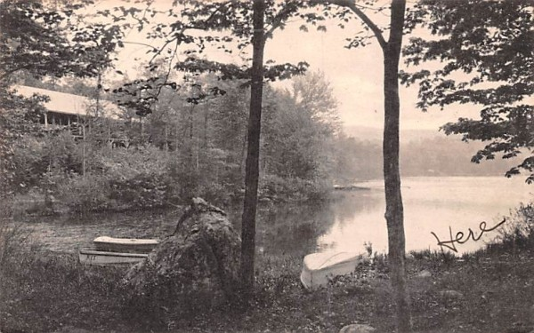 Yonkers Girl Scout Camp Central Valley, New York Postcard