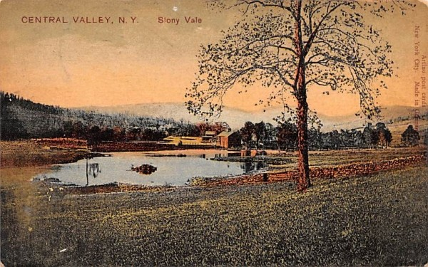Slony Vale Central Valley, New York Postcard