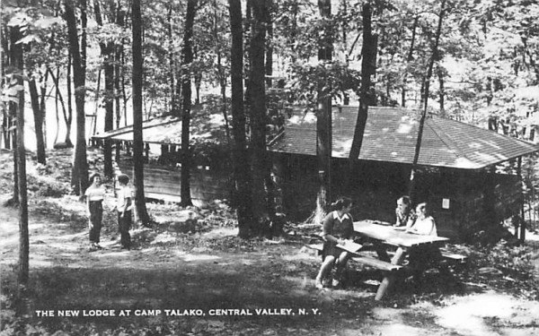 New Lodge Central Valley, New York Postcard