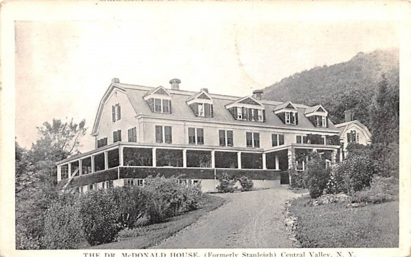 Dr McDonald House Central Valley, New York Postcard