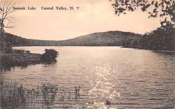 Summit Lake Central Valley, New York Postcard