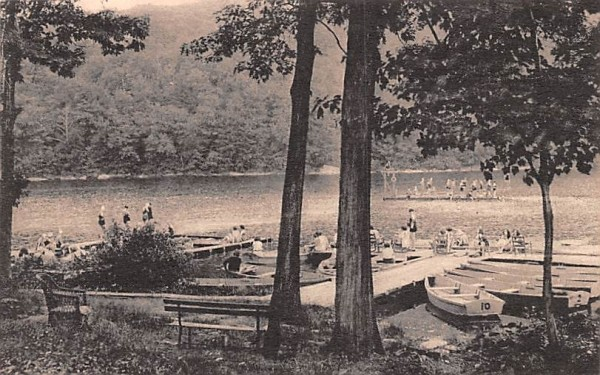 Water Front Central Valley, New York Postcard