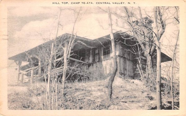 Hill Top Central Valley, New York Postcard