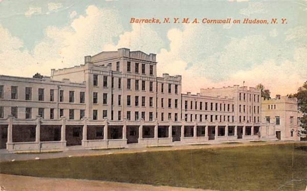 Barracks, NYMA Cornwall, New York Postcard