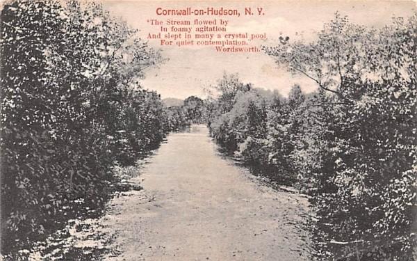 Cornwall on Hudson New York Postcard