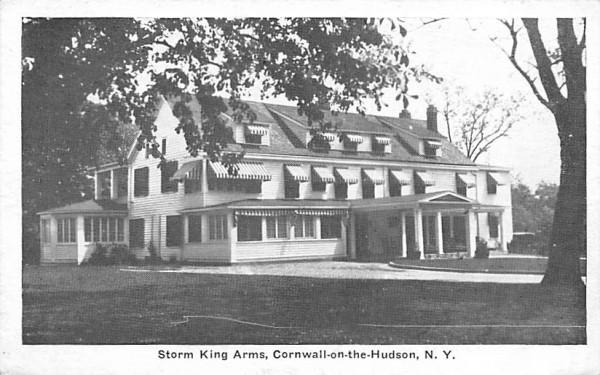 Storm King Arms Cornwall, New York Postcard
