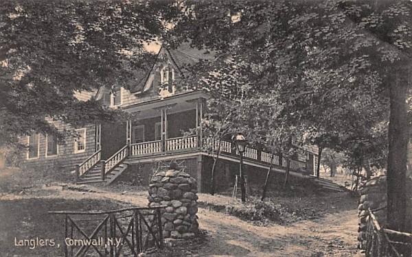 Langlers Cornwall, New York Postcard