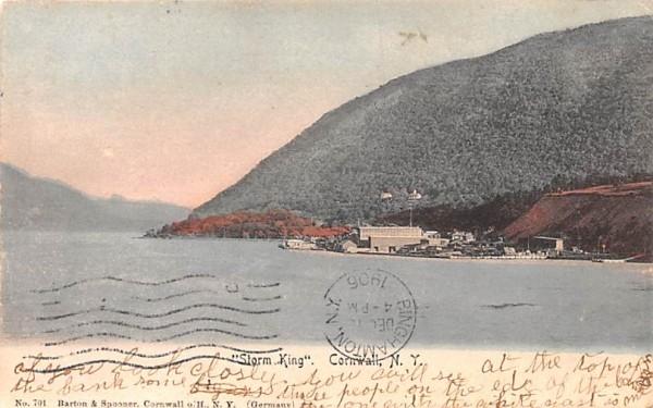 Storm King Cornwall, New York Postcard
