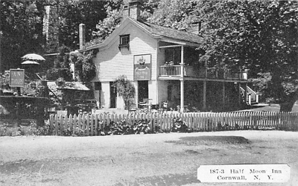 Half Moon Inn Cornwall, New York Postcard
