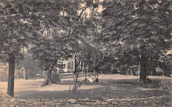 Orchard Farm Cornwall, New York Postcard