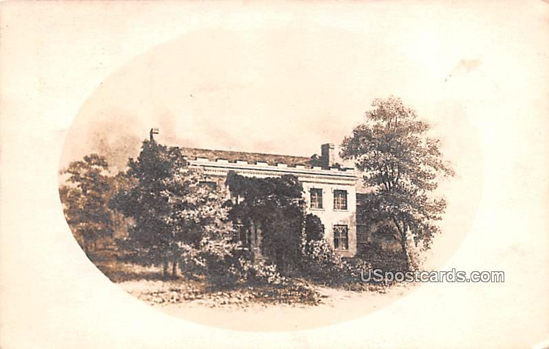 Home of Trumore Cooper - Cooperstown, New York NY Postcard