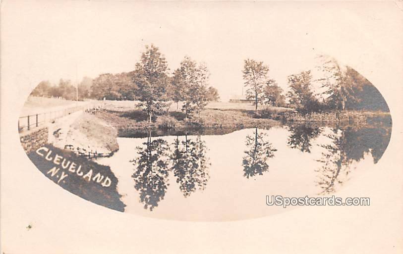 Lake View - Cleveland, New York NY Postcard