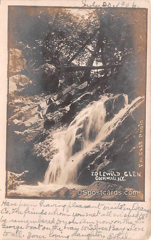 Idlewild Glen - Cornwall, New York NY Postcard