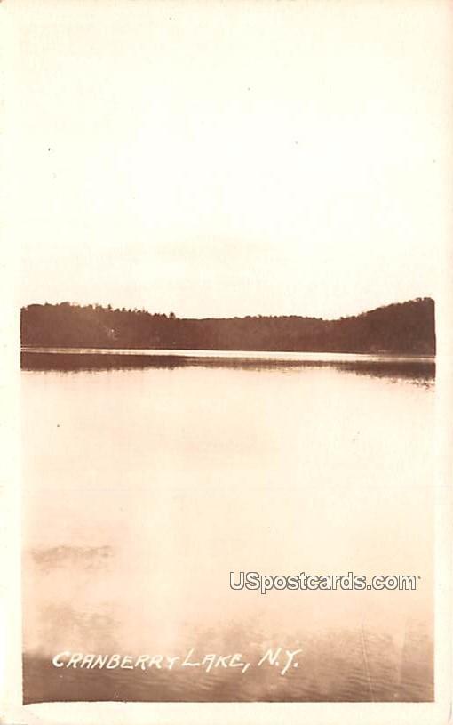 Lake View - Cranberry Lake, New York NY Postcard