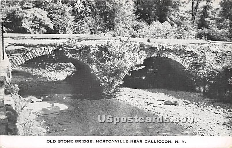 Old Stone Bridge - Callicoon, New York NY Postcard