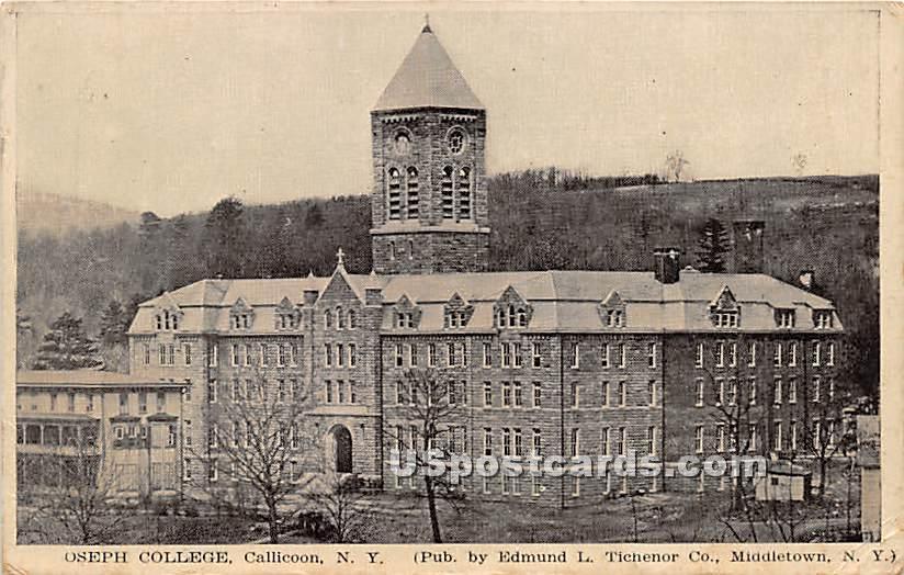 Oseph College - Callicoon, New York NY Postcard