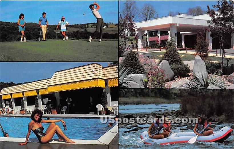Villa Roma Country Club - Callicoon, New York NY Postcard