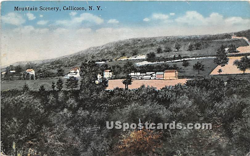 Mountain Scenery - Callicoon, New York NY Postcard