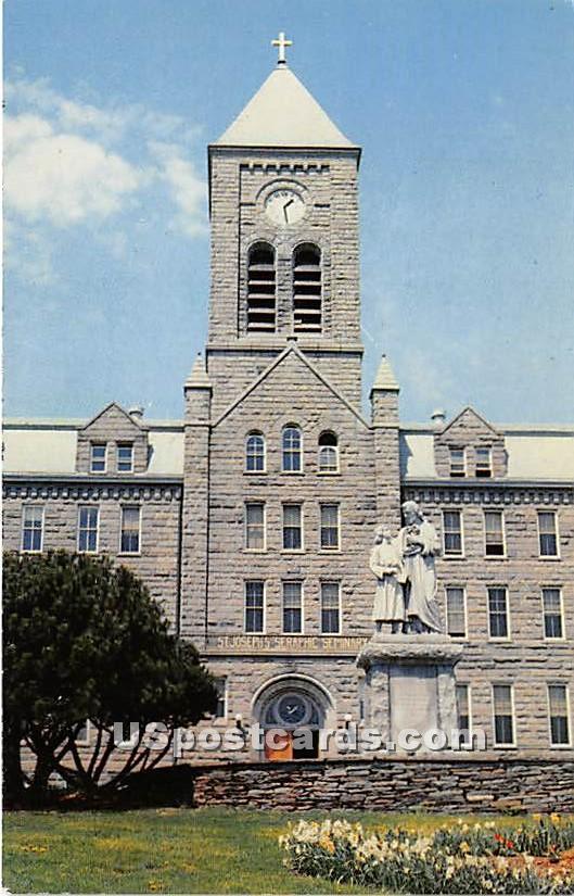 Saint Joseph's Seraphic Seminary - Callicoon, New York NY Postcard