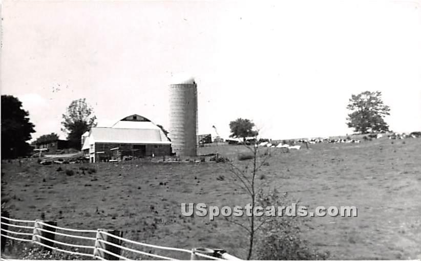 Callicoon Farm - New York NY Postcard
