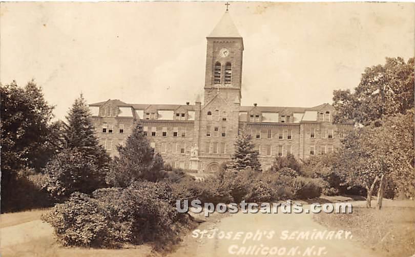 St Joseph's Seminary - Callicoon, New York NY Postcard
