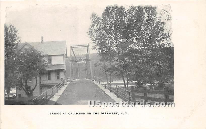 Bridge at Callicoon - New York NY Postcard