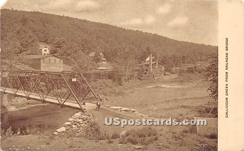 Callicoon Creek - New York NY Postcard