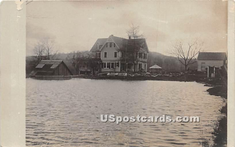 Lake View - Callicoon, New York NY Postcard