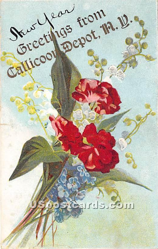 Greetings from - Callicoon, New York NY Postcard