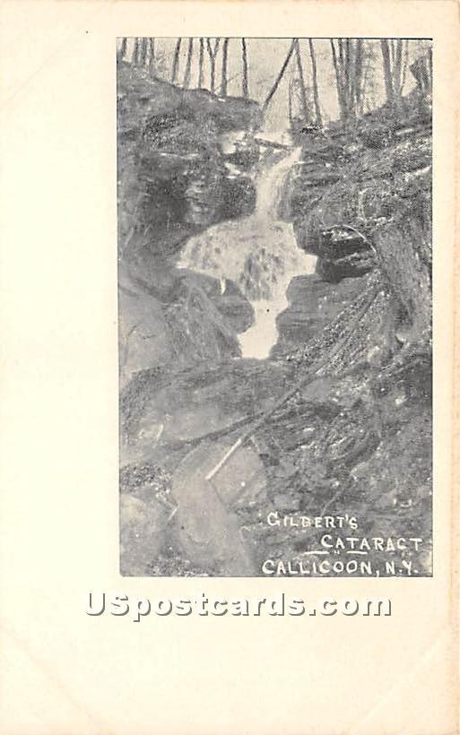 Gilbert's Cataract - Callicoon, New York NY Postcard