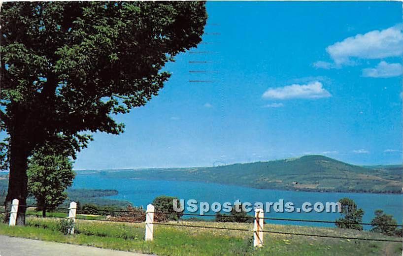 Bare Hill, Canandaigua Lake - New York NY Postcard