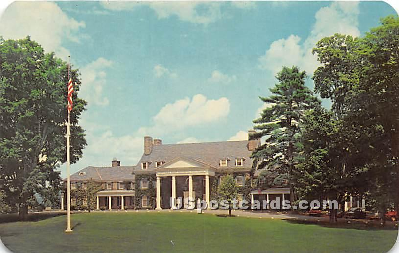 Fenimore House - Cooperstown, New York NY Postcard