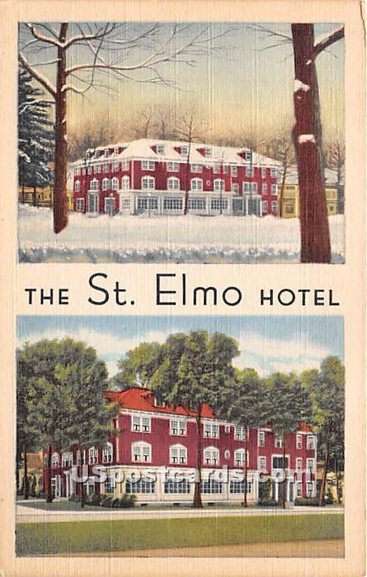 St Elmo Hotel - Chautauqua, New York NY Postcard