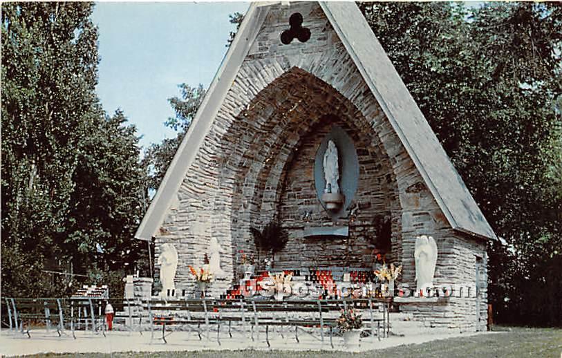 Shrine of the North - Clayton, New York NY Postcard