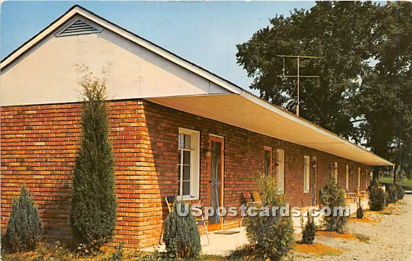 Elms Motel - Corning, New York NY Postcard