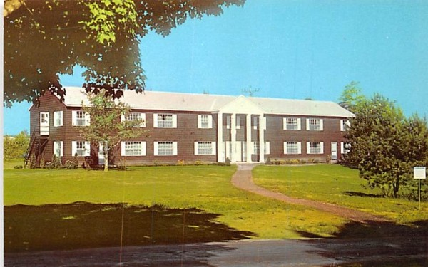 Lincoln Dormitory Chautauqua, New York Postcard