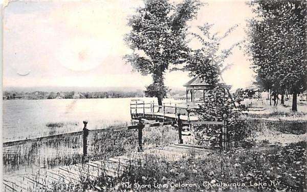 Shore Line Chautauqua, New York Postcard