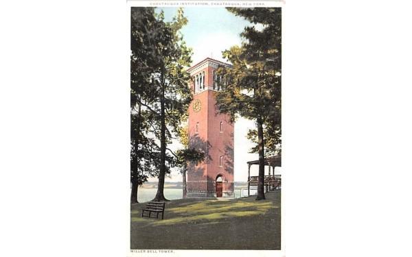 Chautauqua Institution New York Postcard